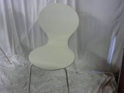 CHAISE BLANCHE LAQUEE