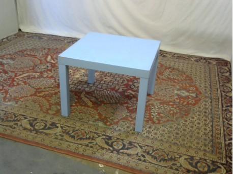petite table enfant bleu