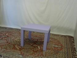 petite table enfant violet