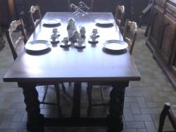 TABLE  PIEDS   TORSADES