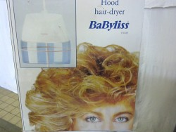 HOOD HAIR DRYER BABYLISS